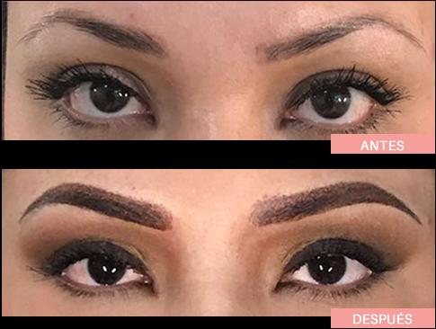 antes y despues micropigmentacion