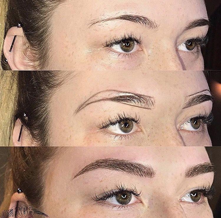 como hacer cejas tatuadas