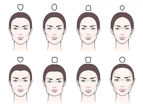 formas de rostro para cejas